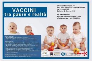 Vaccini, tra paure e realtà (19 Novembre 2015)