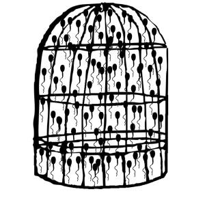Spermatozoi in gabbia