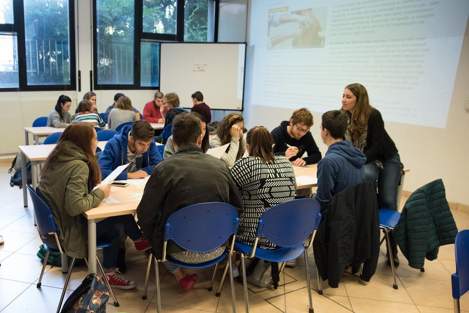 Play decide svolto presso il Liceo Scientifico Fermi di Bologna