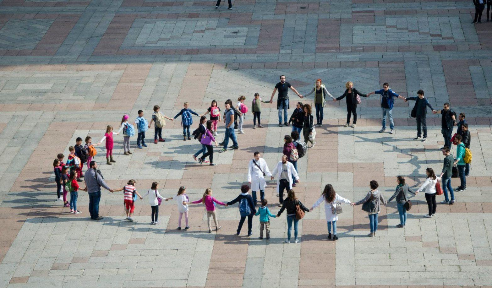 Flash Mob Mitosi in Corso