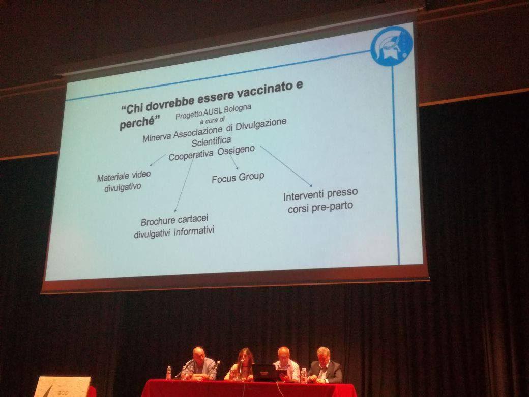 Anna parla delle iniziative per la promozione delle vaccinazioni
